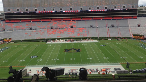 Mississippi State (2-1, 0-1 in SEC play) at Auburn