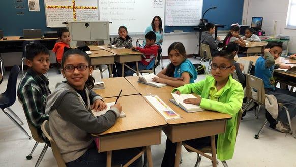"Davenport Elementary School students read ""Esperanza"