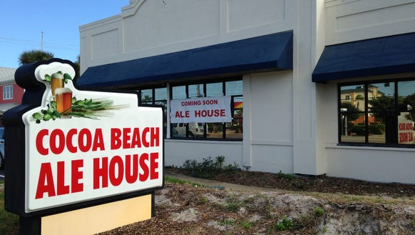 The Cocoa Beach Ale House will open in about three