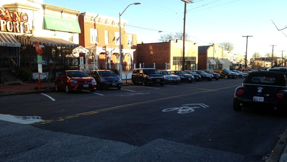 Hampden's primary business district is called The Avenue,