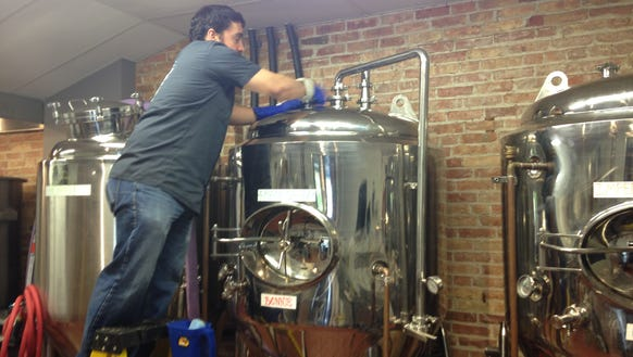 Brewer Ben Maeso works at Auburn's Prison City Brewing