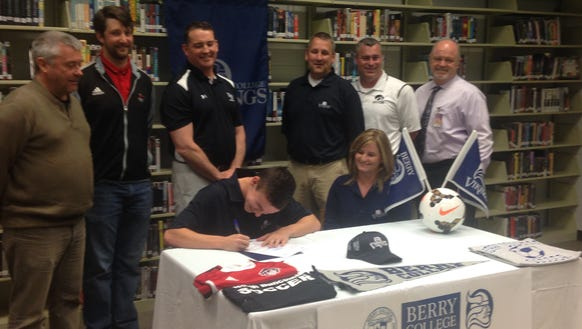 North Buncombe senior Josh Pruett has signed to play