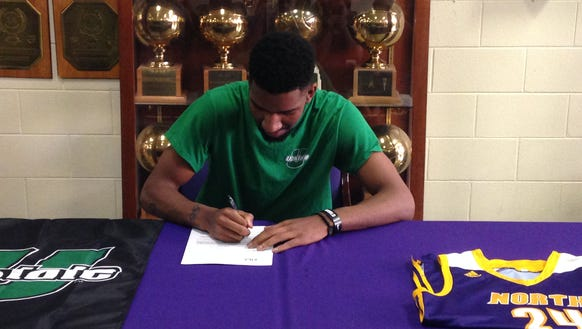 North Henderson senior Austin Nelson has signed to