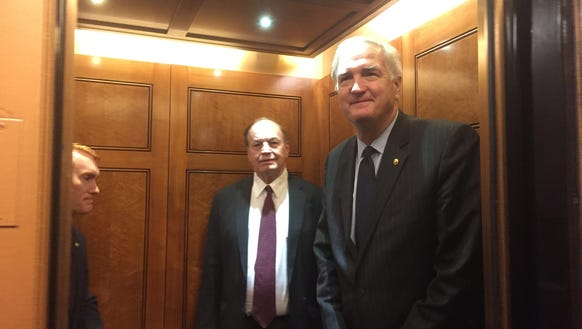 Republican Alabama Sens. Richard Shelby and Luther