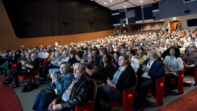FILE - Palm Springs International Film Festival attendees.