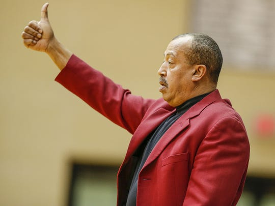 North Central Panthers coach Doug Mitchell.