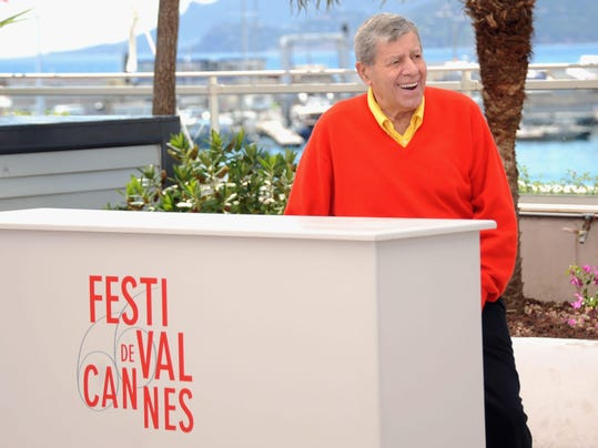 (FILE) Comedian Jerry Lewis Dies At 91 'Max Rose' Photocall - The 66th Annual Cannes Film Festival