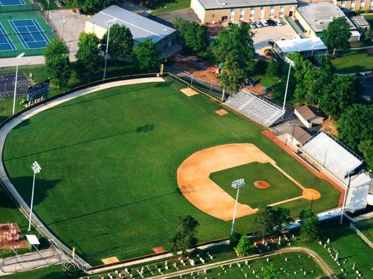 Ruxer Field at Jasper High School.