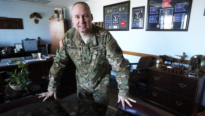 Command Sgt. Maj. Tim Dotson is the senior enlisted leader at Joint Task Force North.