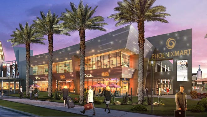 """When the project was announced nearly four years ago, officials said PhoenixMart in Casa Grande would attract more than 1,700 vendors, establish nearly 8,000 jobs. Project directors described it as a """"city within a city."""" However, the project has suffered several delays."""