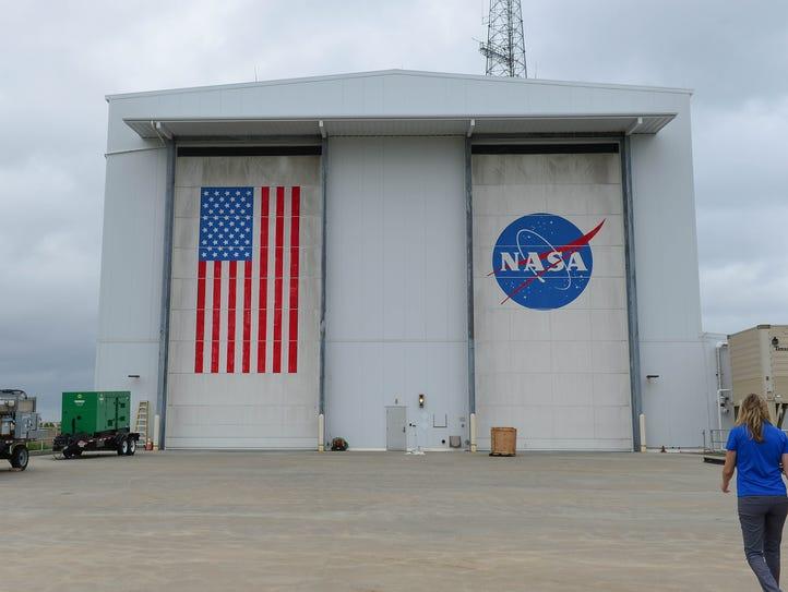 The NASA Horizontal Integration Facility where the