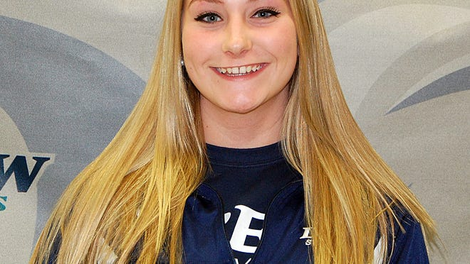Monica Callaghan is a member of the Drew University Diving Team.