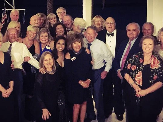 New Year's Eve at the Marco Island Yacht Club was filled