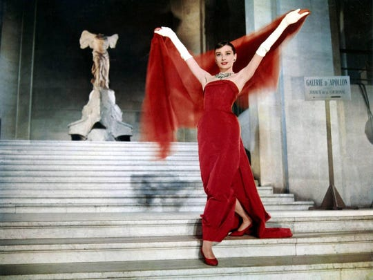 """Funny Face"" starring Audrey Hepburn."