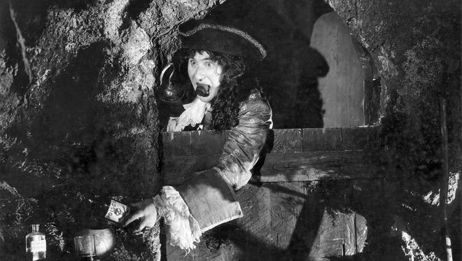 """Ernest Torrence stars as Captain Hook in the 1924 film """"Peter Pan."""""""