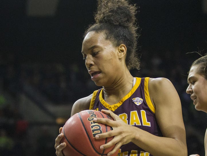 Central Michigan's Tinara Moore is the reigning Mid-American