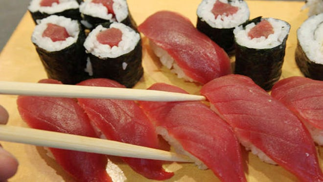 53 people in 9 states sickened after eating raw tuna