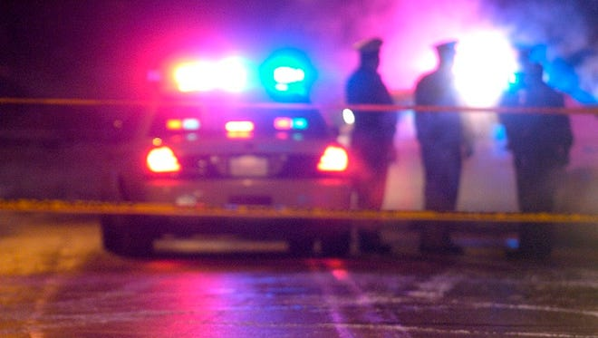 Florence police say a man is in critical condition after being stabbed Saturday night during an argument over a traffic collision.