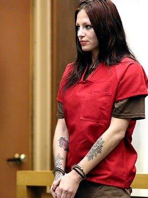 Alix Tichelman appears in Santa Cruz Superior Court on July 9, 2014.