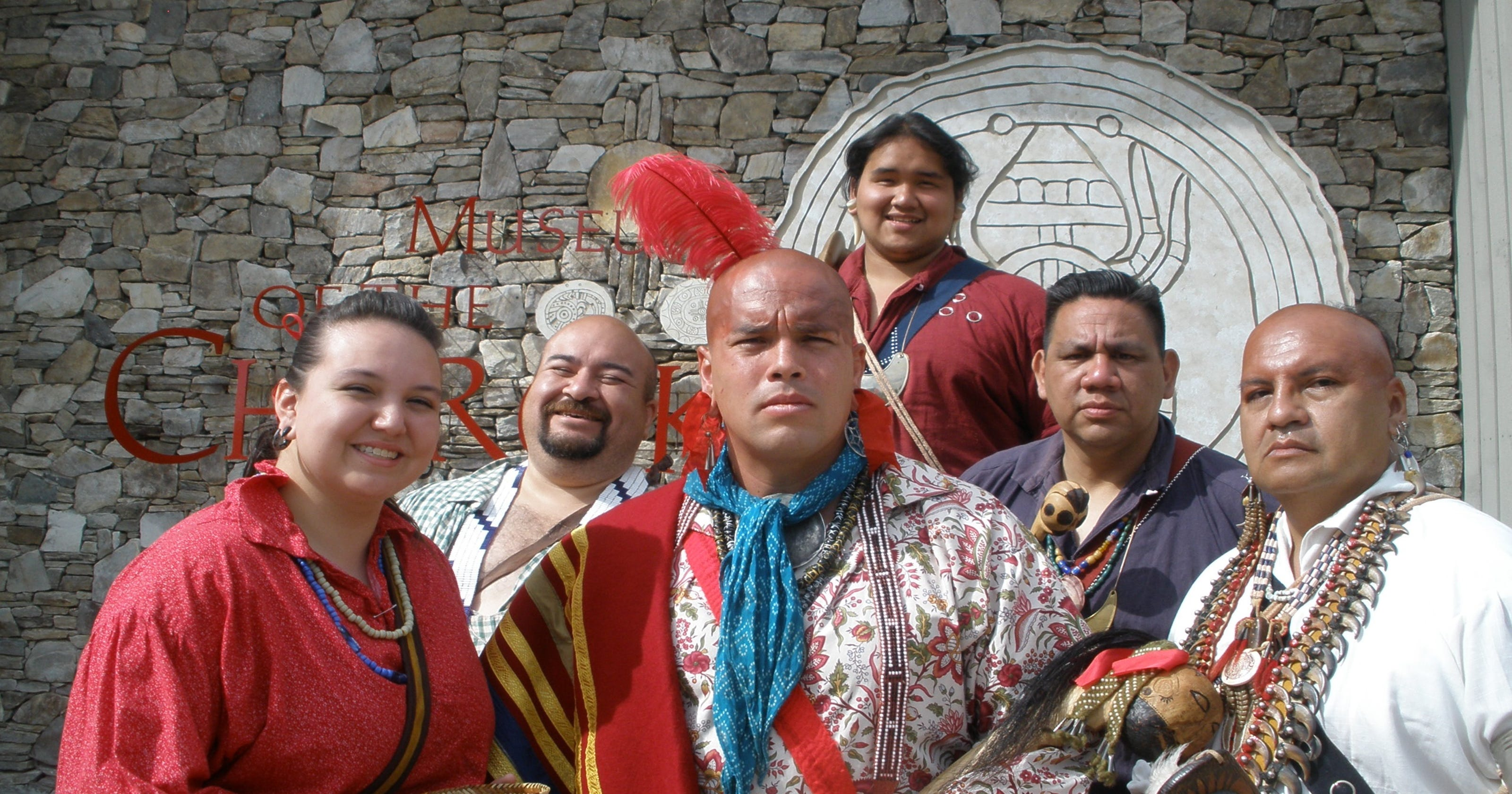 Cherokee Friends share tribal culture with visitors