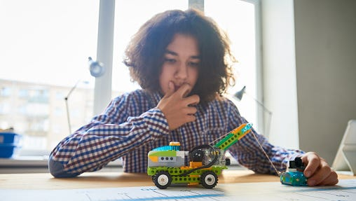Watch JCPS students take part in the RoboRumble competition on March 4 at IUS.
