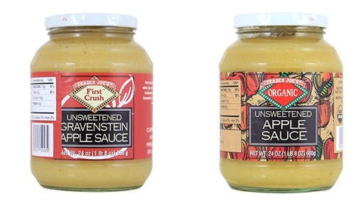 Trader Joe's issued a voluntary recall of three unsweetened applesauce products earlier this week.