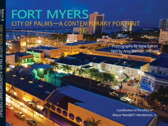 """The cover of """"Fort Myers, City of Palms — A Contemporary"""