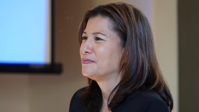 California Chief Justice Tani Cantil-Sakauye spoke in Ventura on Saturday morning at a meeting of the Ventura County Women's Political Council.