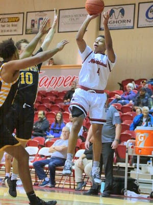 Middletown graduate Kyle Brown ranks No. 8 in the nation in junior college scoring at Northwest College in Powell, Wyoming.