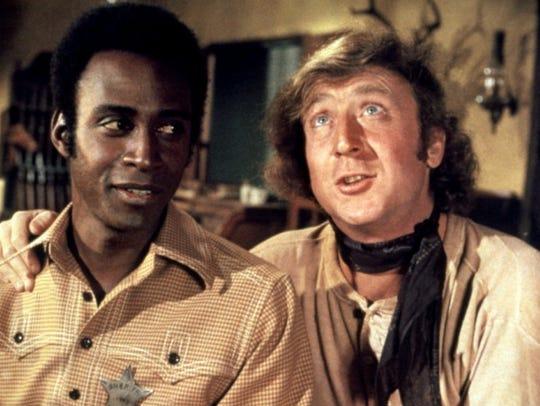 Gene Wilder (left) and Cleavon Little star in the 1974
