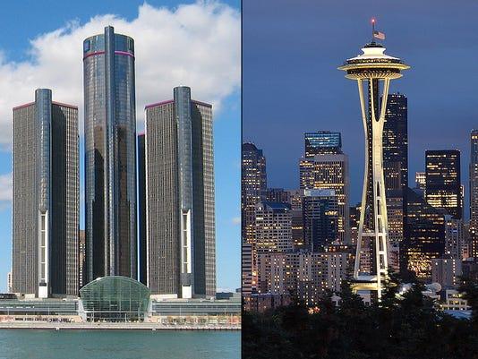 Detroit Seattle
