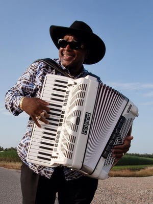 Nathan Williams of Lafayette performs April 23 at Festival International de Louisiane.