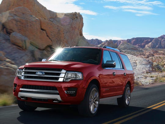 The 2017 Ford Expedition, which ranks No. 5 in the