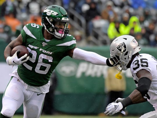 The numbers aren't great for Jets running back Le'Veon Bell. But he believes his level of play is.