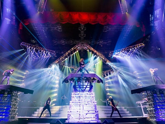 Trans-Siberian Orchestra will perform Dec. 20 at Bankers Life Fieldhouse.