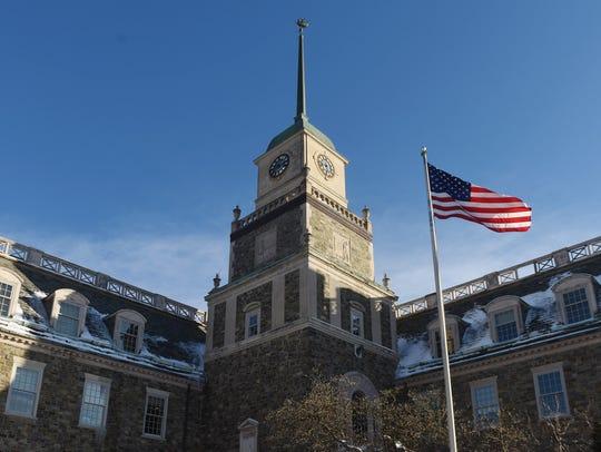 The Poughkeepsie Journal building