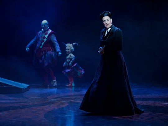 """Andrew Llloyd Webber's """"Phantom of the Opera"""" follow-up """"Love Never Dies"""" is at the Fisher Theatre through Oct. 29."""