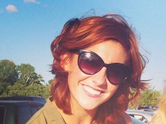 "Caroline Lemke's ""red hair will light up even the darkest room,"" says her nominator."