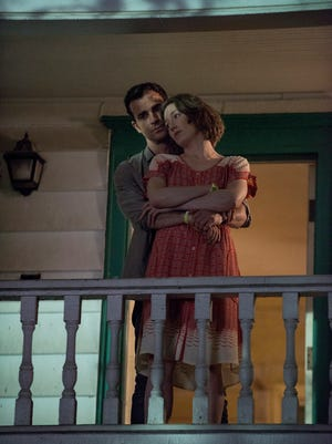 Justin Theroux, left, and Carrie Coon star in HBO's 'The Leftovers.'