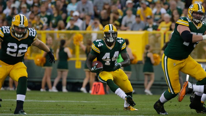 Packers running back James Starks hopes to separate himself from the competition.