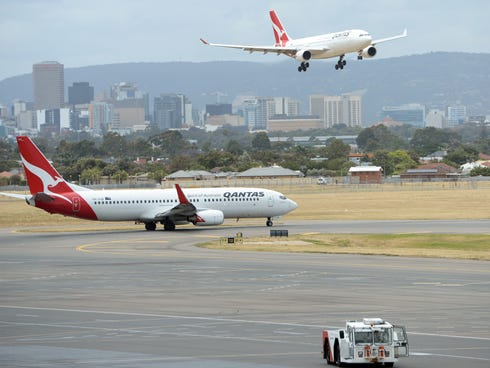 AirlineRatings.com named Qantas the safest airline in 2013.