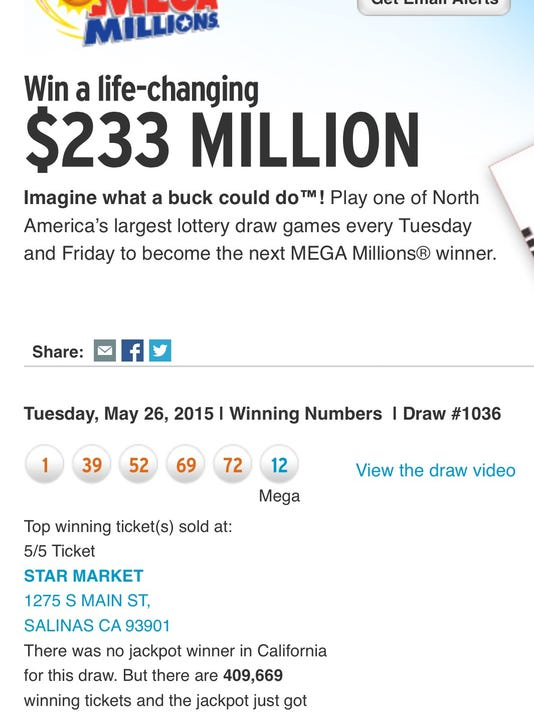 When Is The Next Lottery Drawing In California