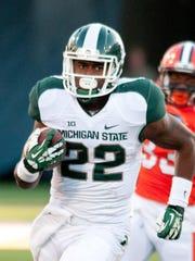 Michigan State running back Delton Williams