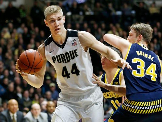 LAF Purdue mens basketball gamer Michigan