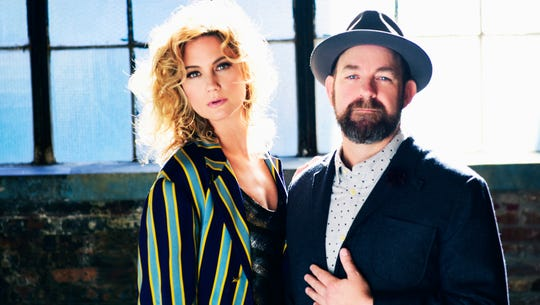 Grammy-winning country duo Sugarland is performing