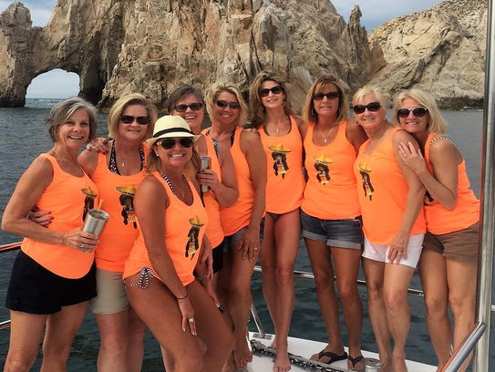 "Girlfriend Vacay - Nine friends embarked on a ""Girlfriend"