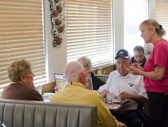 Bruner's Family Restaurant, 2200 W. Kilgore Ave., was