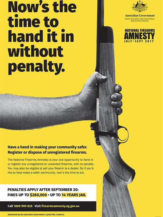 Australian gun law amnesty