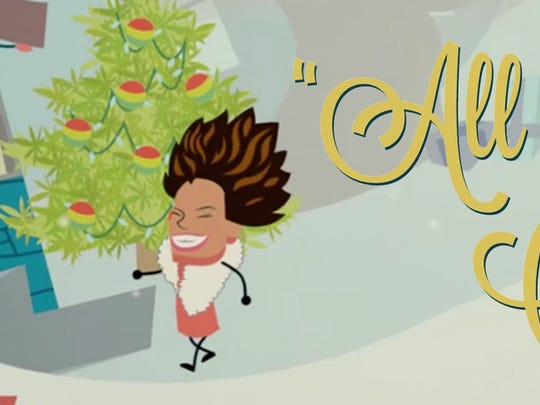 """Grammy-winning soul diva will sing her new charitable holiday song """"All I Want for Christmas"""" on New Year's Eve at New York City's Iridium."""