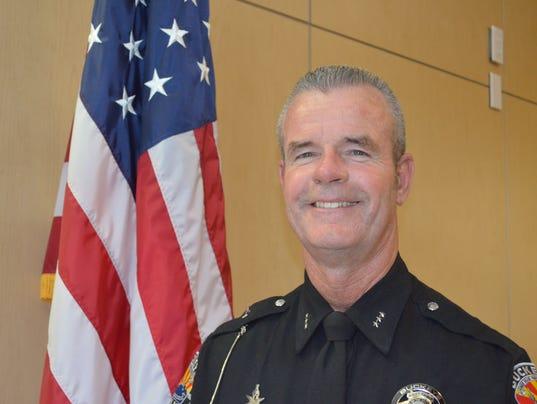 Former Buckeye Police Chief Mark Mann
